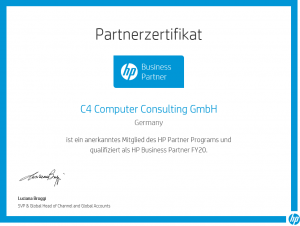 C4 Computer Consulting  ist HP Business Partner